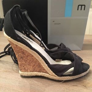Mossimo Presta Ankle Tie Sandal Wedges